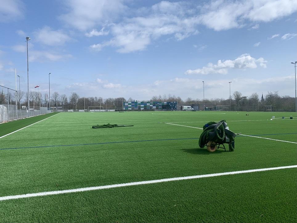 Update & spelregels nieuw kunstgrasveld en complex Grasshoppers